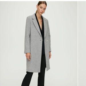 Aritzia Stedman Gray Coat size M